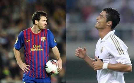 Messi, Cristiano Ronaldo split