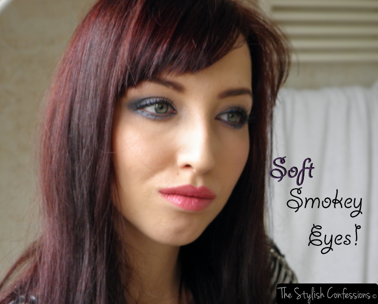 Sunday Make-up: Soft Smokey eyes
