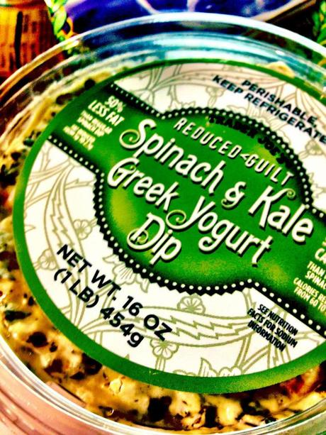 Trader Joe's Spinach and Kale Greek Yogurt Dip