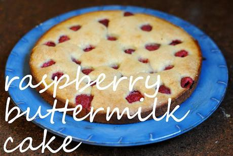 Sunday breakfast: Raspberry Buttermilk Cake