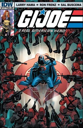 G.I. Joe: A Real American Hero #177 cover