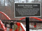 Indiana Bridges: Boner Bridge Hatfield,