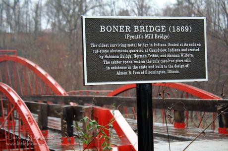 Indiana Bridges: Boner Bridge