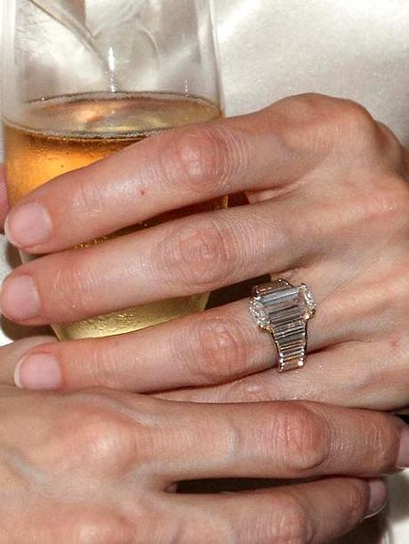 To Angelina from Brad, A Stunning Engagement Ring