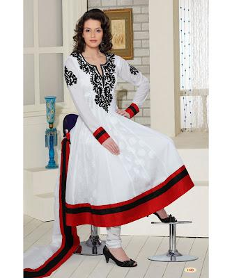 Frocks  Umbrella Frocks  New Styles of Umbrella Frocks  Long Frocks
