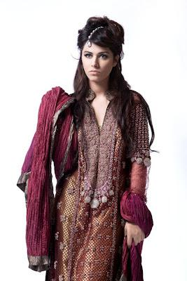 Elan Collection by Khadija Shah  New Fashion of Asia 2012-2013