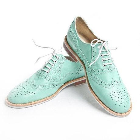 Trends: Mint Oxford Brogues! Love it or hate it? - PopThreads ...