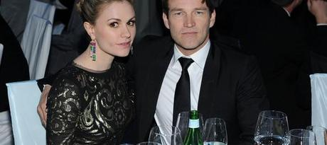 Anna Paquin and Stephen Moyer AIDS Benefit Larry Busacca Getty 3