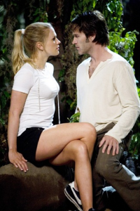 Anna Paquin & Stephen Moyer True Blood pilot