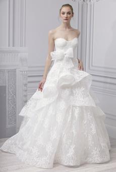 Monique Lhuillier Bridal Fashion Week 2013, Monique Lhuillier, wedding dress