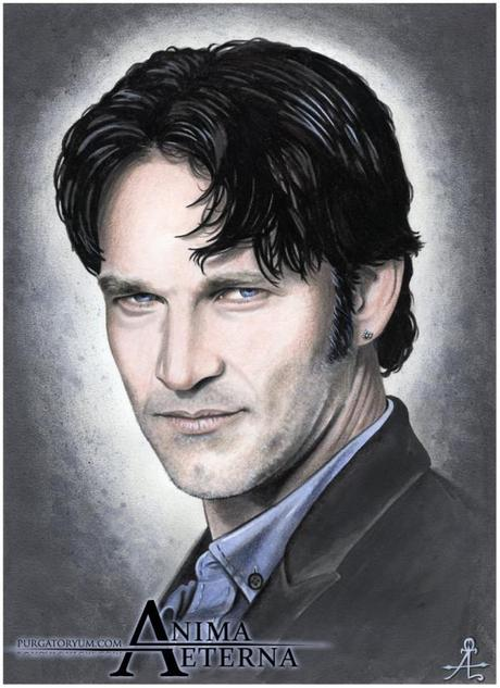 Stephen Moyer glamours in portrait auctioned for Billsbabes Day