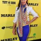 Actress Janina Gavankar poses on arrival