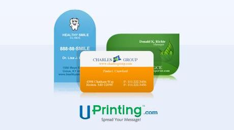 Blogger Essentials: Win 250 biz cards from UPrinting