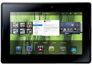 BlackBerry Playbook Get Update the OS 2.0.1 , Improve Browser Performance