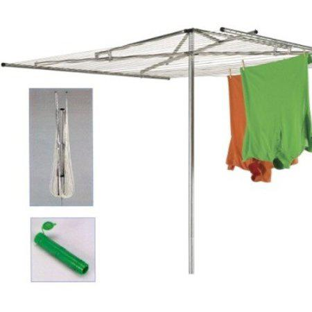 Household Essentials 4000 30-Line Outdoor Parallel-Style Clothes Dryer with Steel Arms