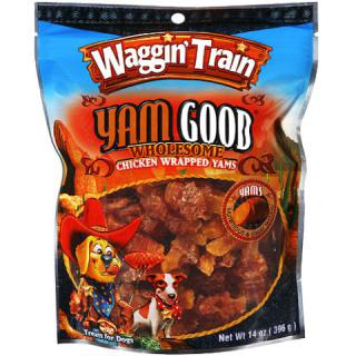 Waggin' Train Yam Good, alleged to contain contaminated chicken jerky