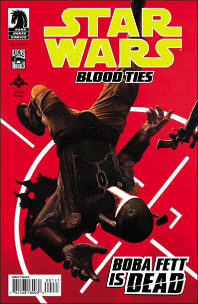 Star Wars: Blood Ties - Boba Fett is Dead #1 Palumbo variant