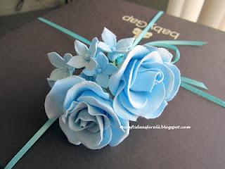 Gift and Gift Wrapping idea for a New Baby Boy