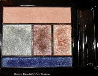 Lancôme's Eye Brightening All-In-One 5 Palette~Sky Demure