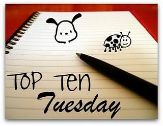 Top Ten Tuesday: Favourite Characters in Books!