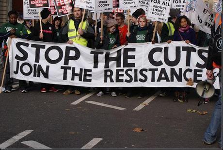 UK strike protests