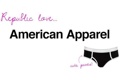 where to buy american apparel