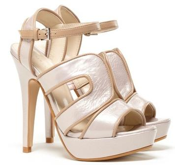 Shoe of the Day | Sole Society Ariel Tonal Platform Sandals