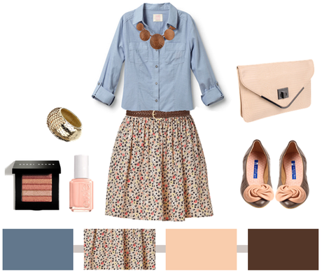 Chambray + Floral…