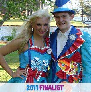 Stuck at Prom® 2011 Finalists - Kristin & Hunter