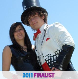 Stuck at Prom® 2011 Finalists - Sarah & Johnathan