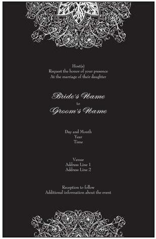 More than just a wedding invitation guest post by chris of vistaprint wedding invitation vista print vistaprint stopboris Gallery