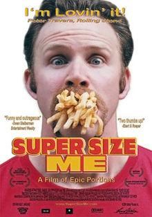 220px Super Size Me Poster Becoming a Quasi Vegetarian