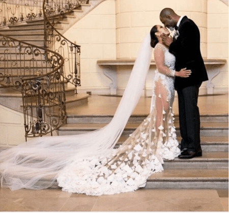 [Pics!] Brian McKnight Married His Longtime GF On NYE