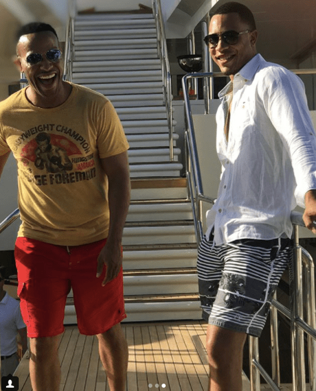 [Pics!]DeVon Franklin, Meagan Good, Trai & Grace Byers Vacation In Jamaica