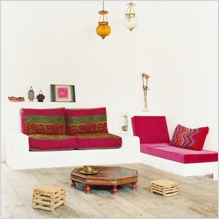 boho chic living rooms