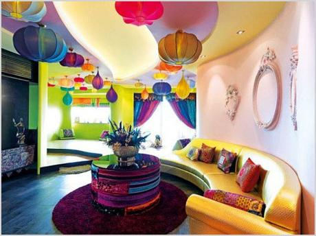 colorful and modern bohemian decor 472
