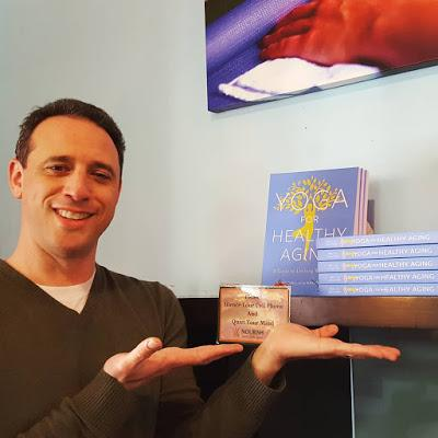 Yoga for Healthy Aging Book Signings/Presentations in January, February, and March 2018