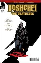 Preview: Koshchei The Deathless #1 by Mignola & Stenbeck (Dark Horse)