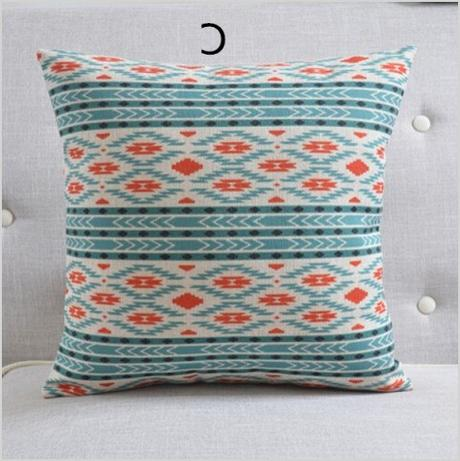 bohemia style geometric decorative throw pillows living room