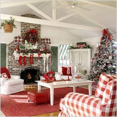 55 dreamy christmas living room decor ideas