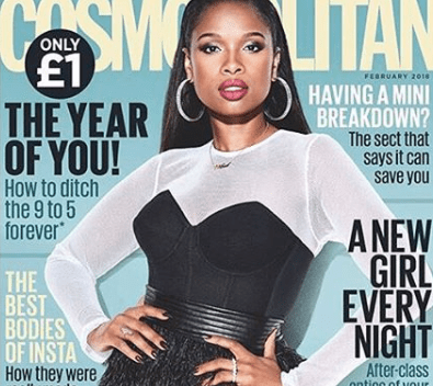 Jennifer Hudson Shares Her Story On Racism In UK's Cosmopolitan