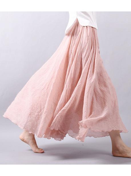 Gracila long maxi skirt