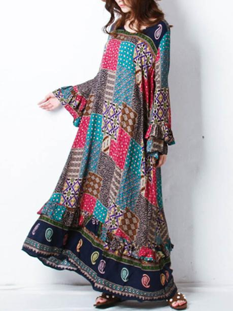 gracila bohemian maxi dress