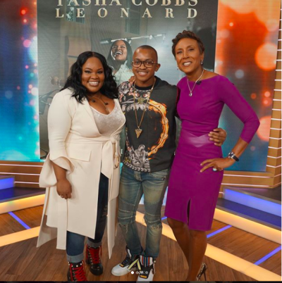 "[WATCH] Tasha Cobbs Performs ""I'm Getting Ready"" On Good Morning America"
