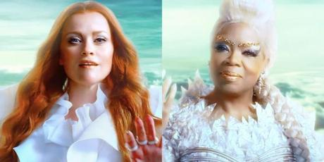 "Oprah & Reese Witherspoon Look Magical In New ""A Wrinkle In Time"" Moving Posters"