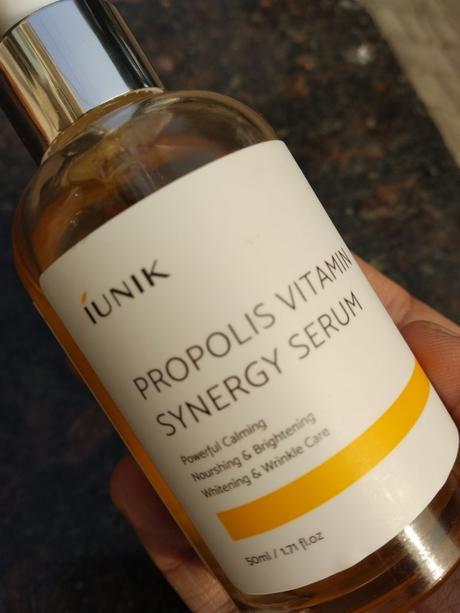 iUNIK Propolis Vitamin Synergy Serum Review