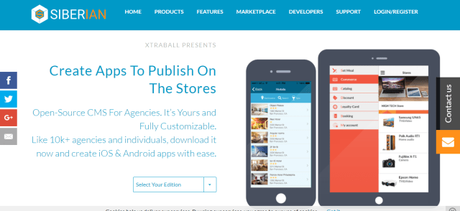 What is Siberian CMS? Open Source App Builder For iPhone and