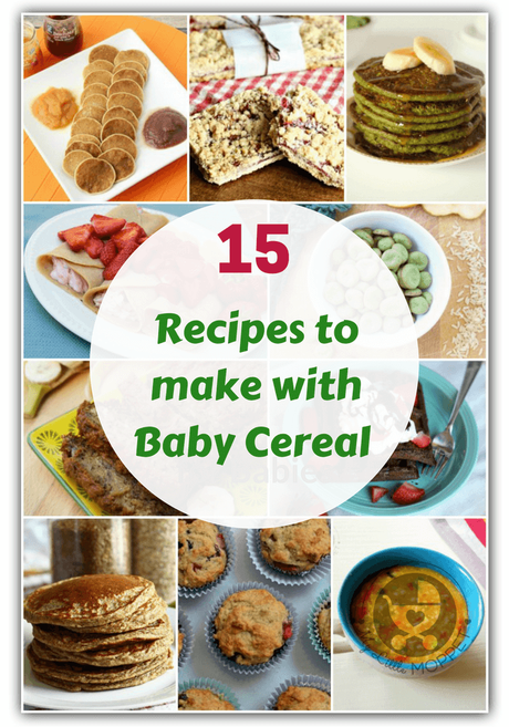 Got leftover baby cereal or want to make your kids' food healthier? Then you have to try these healthy recipes to make with baby cereal - rice, oats and more!