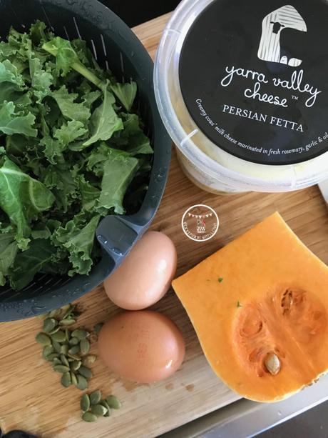 Pumpkin, Feta & Kale Mini Loaves
