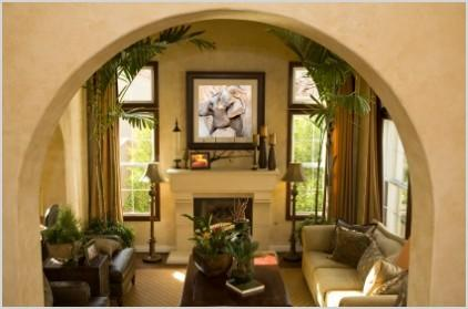 decoracao de interiores inspirada em motivos tropicais